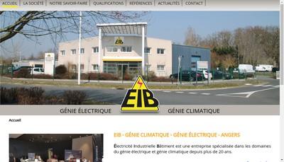 Site internet de Eib Electricite Industrielle et Batiment