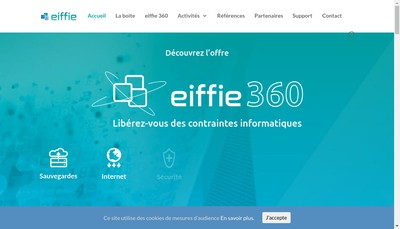 Site internet de Eiffie