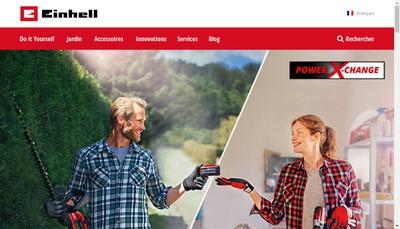 Site internet de Einhell