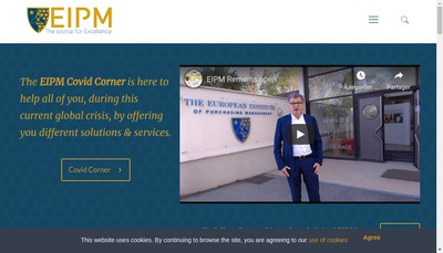 Site internet de Eipm Services
