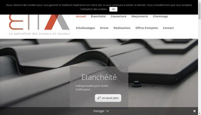 Site internet de Etancheite Impermeabilisation Technique Application
