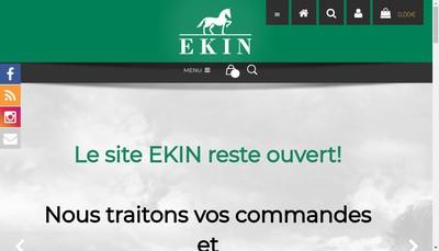 Site internet de Ekin