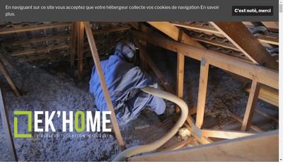 Site internet de Ek Home