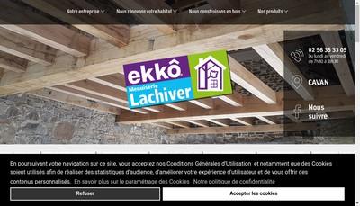 Site internet de J Lachiver