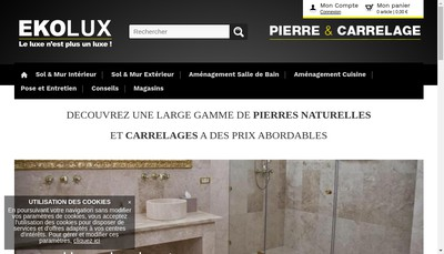 Site internet de Ekolux