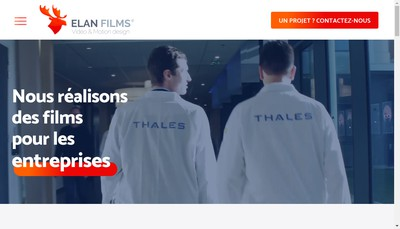 Site internet de Elan Films
