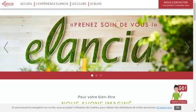 Site internet de Elancia