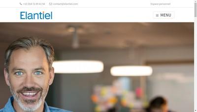 Site internet de Recherche et Formation-Elantiel
