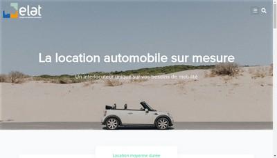 Site internet de Europeenne Location Automobile Trosset