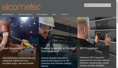 Site internet de Elcometer SARL