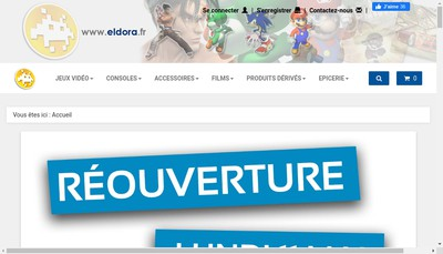 Site internet de Eldora Games