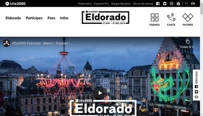Site internet de Lille3000