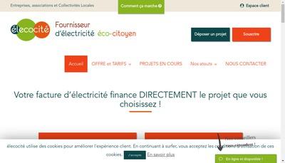 Site internet de Elecocite