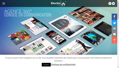 Site internet de Electric Dog