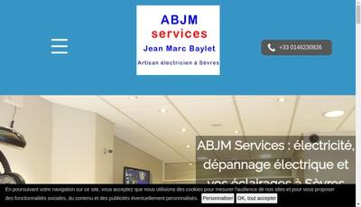 Site internet de Abjm-Services
