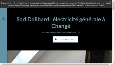 Site internet de Dalibard Daniel