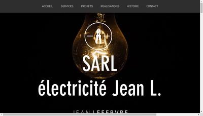 Site internet de Jean Lefebvre