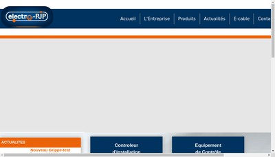 Site internet de Electro Pjp