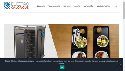 Site internet de Electro Immo