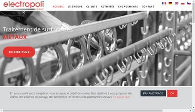 Site internet de Electropoli