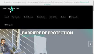 Site internet de Electroprint