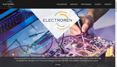 Site internet de Electroren