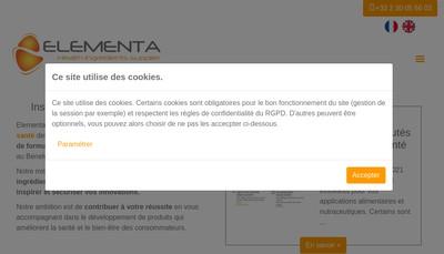 Site internet de Elementa