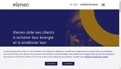 Site internet de Eleneo
