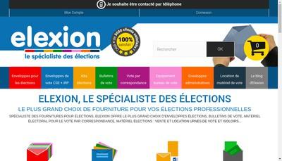 Site internet de Elexion