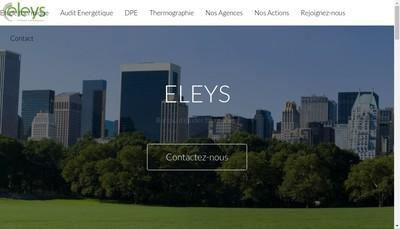 Site internet de Eleys