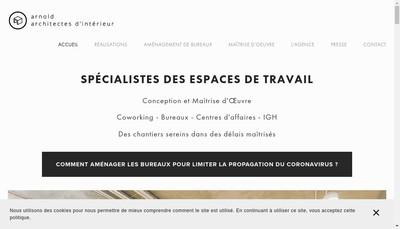 Site internet de Eliel Arnold