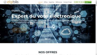 Site internet de Eligibilis