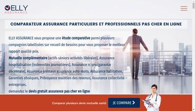 Site internet de Elly Assurance