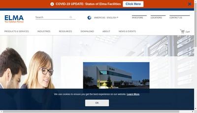 Site internet de Elma