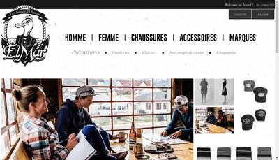 Site internet de Elmar Shop
