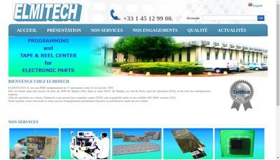 Site internet de Elmitech