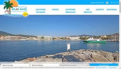 Site internet de Emirs' Locations Immobilieres