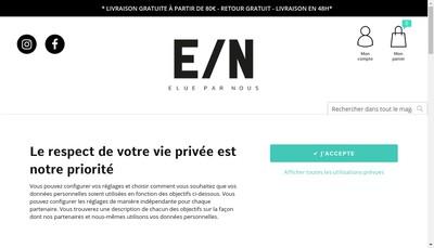 Site internet de Elue par Nous