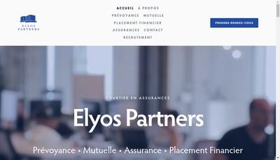 Site internet de Elyos Partners
