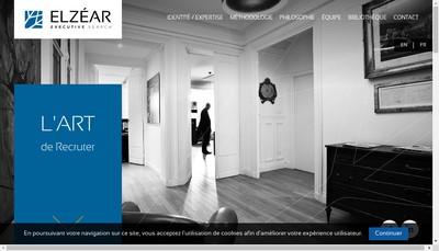 Site internet de Elzear Executive Search & Selection