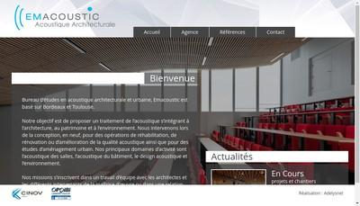 Site internet de Emacoustic