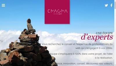 Site internet de Emagma