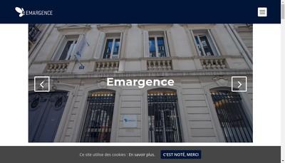 Site internet de Emargence