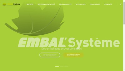 Site internet de Embal'Systeme