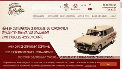 Site internet de Embiellage Collector SAS