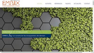 Site internet de Embix