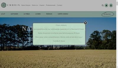 Site internet de SAS Ferme du Chateau