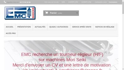 Site internet de Emc