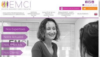 Site internet de EMCI