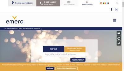 Site internet de Emera Exploitations